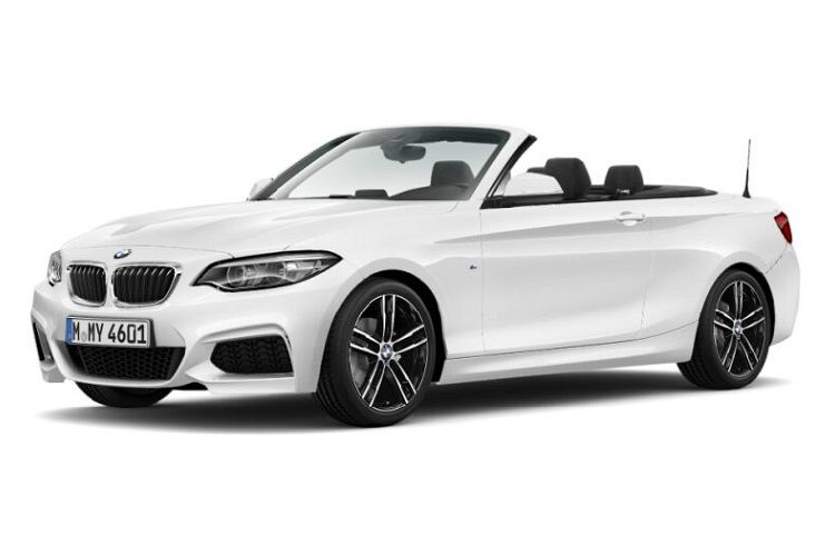 BMW 2 Series 218 Convertible 1.5 i 136PS M Sport 2Dr Auto [Start Stop] front view