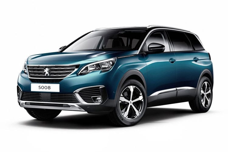 Peugeot 5008 SUV 1.2 PureTech 130PS Allure 5Dr Manual [Start Stop] front view