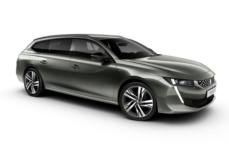 Peugeot 508 SW 5Dr HYBRID 1.6 PHEV 11.8kWh 225PS Allure 5Dr EAT8 [Start Stop] front view
