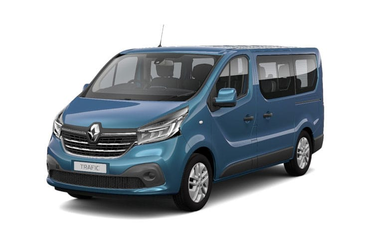 Renault Trafic 28 SWB MiniBus M1 2.0 dCi FWD 120PS Sport Nav Minibus Manual [Start Stop] [9Seat] front view
