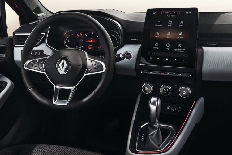 Renault Clio Hatch 5Dr 1.0 TCe 90PS Play 5Dr CVT A7 [Start Stop] inside view