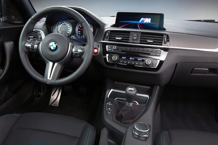 BMW 2 Series 218 Coupe 2.0 d 150PS M Sport 2Dr Auto [Start Stop] inside view