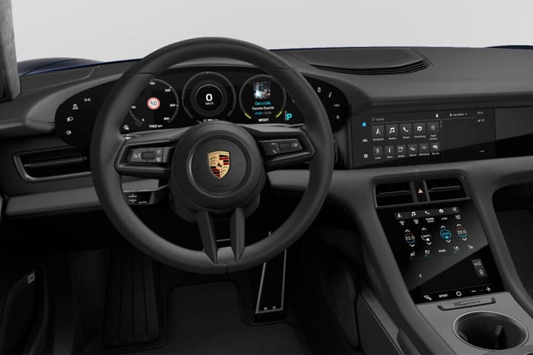 Porsche Taycan Saloon RWD Elec 79.2kWh 240KW 326PS  4Dr Auto inside view