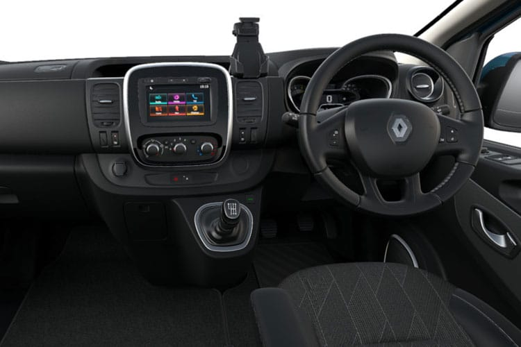 Renault Trafic 28 SWB MiniBus M1 2.0 dCi FWD 170PS SpaceClass Minibus EDC [Start Stop] [8Seat] inside view